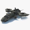 dropship 3D models