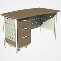 office desk dxf