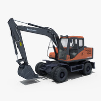 Wheeled Excavator 140