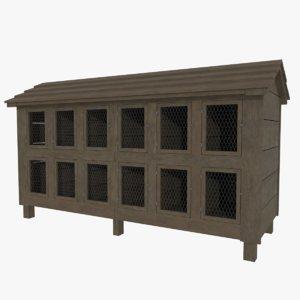chicken coop 3d 3ds