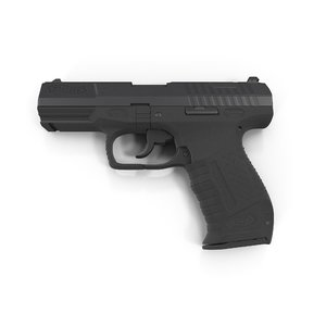 3d model walther p99 pistol