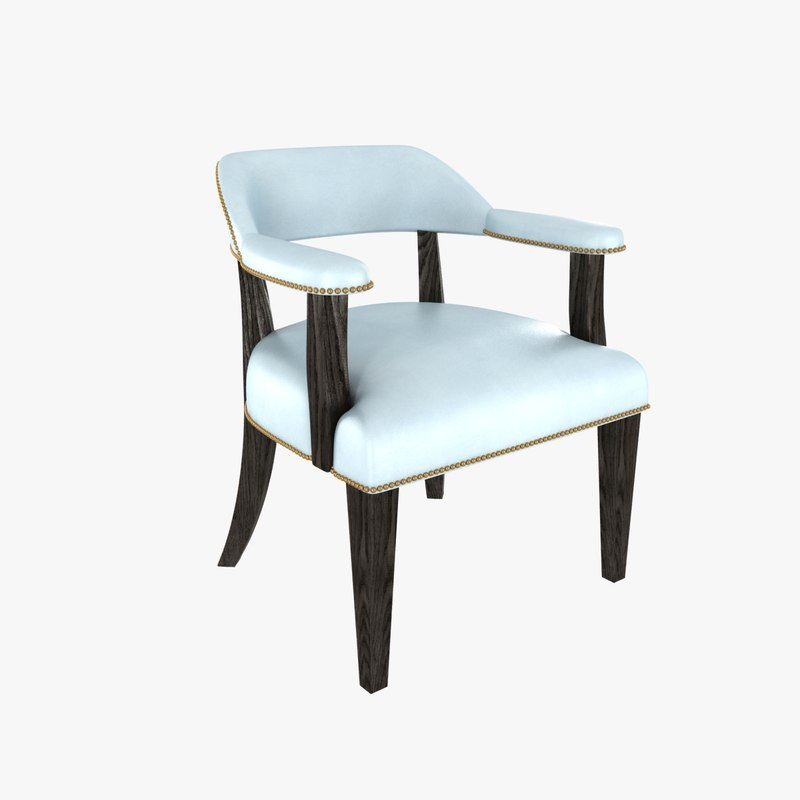 chair restaurant 3d model