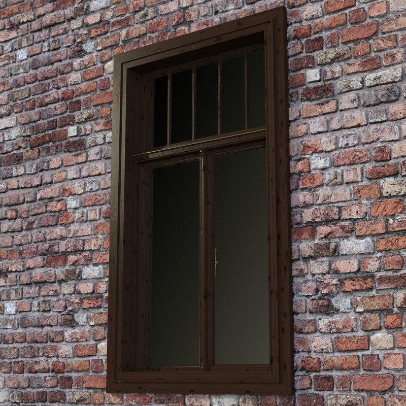 window 02 kastenfenster 3d model