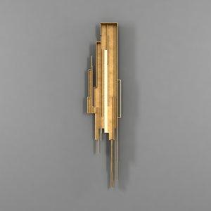 3dsmax modern sculpture sconce