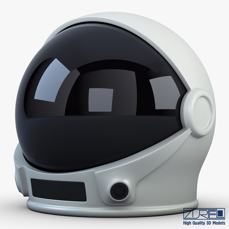 astronaut helmet 3d max