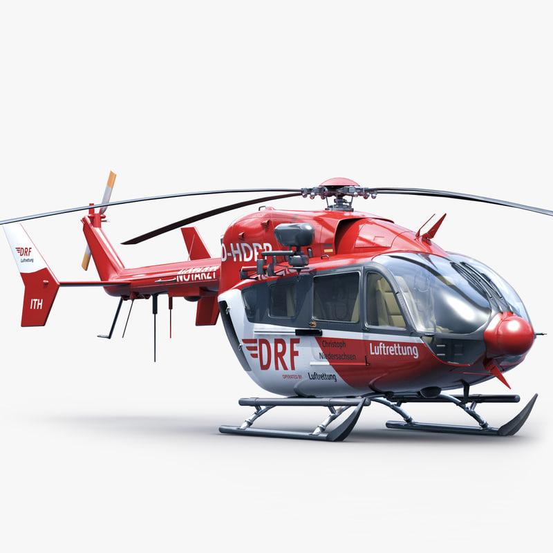 3d eurocopter ec 145