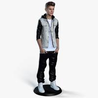 Justin Bieber 3D Print