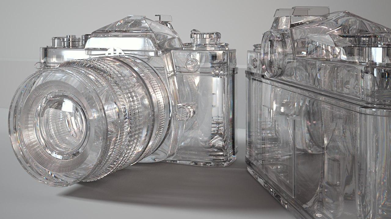 3d nikon iray diamond model