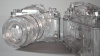 3d nikon iray diamond model