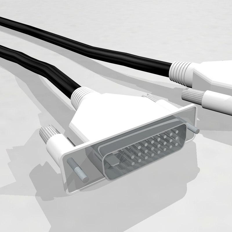 3d cable dynamic spline model