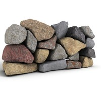 stone wall 2 3d 3ds