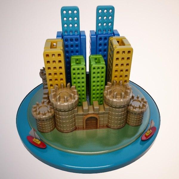 cartoon castle city max