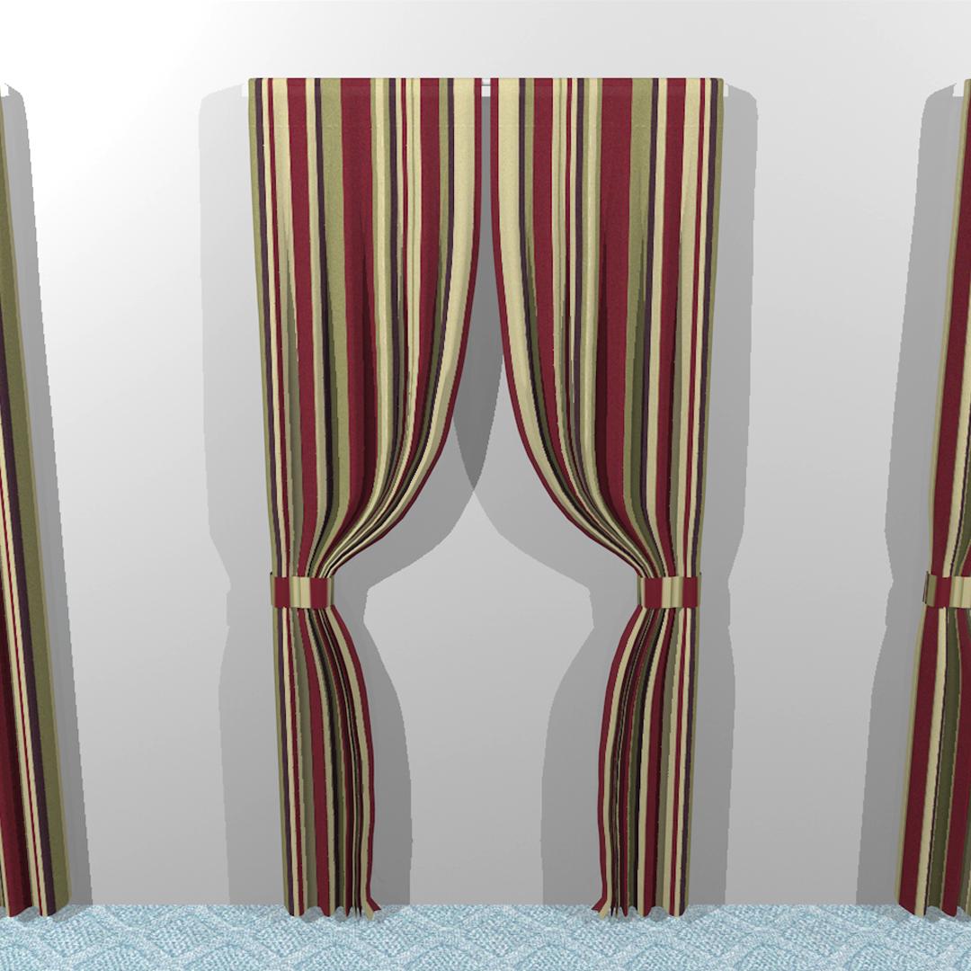 Ensemble de rideaux: différents styles
