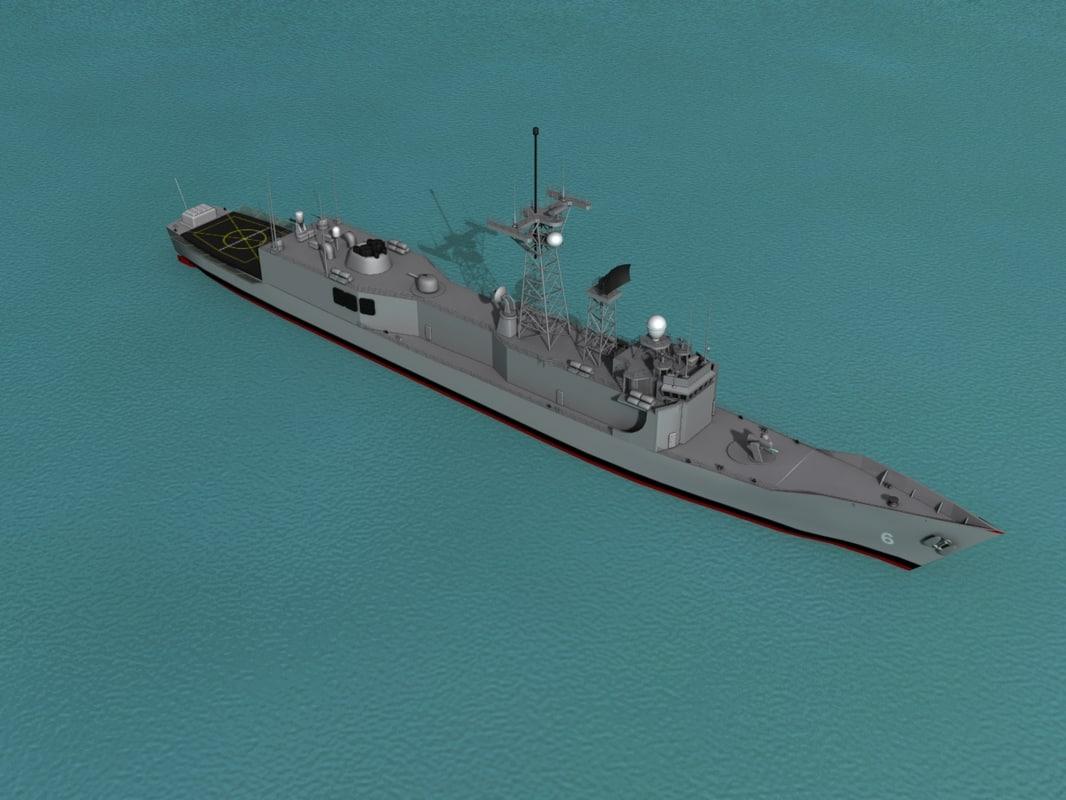 3d frigates class
