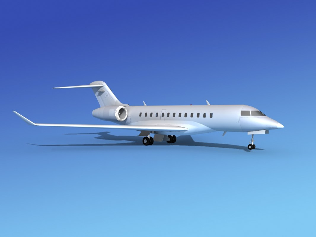 3d turbines bombardier global express