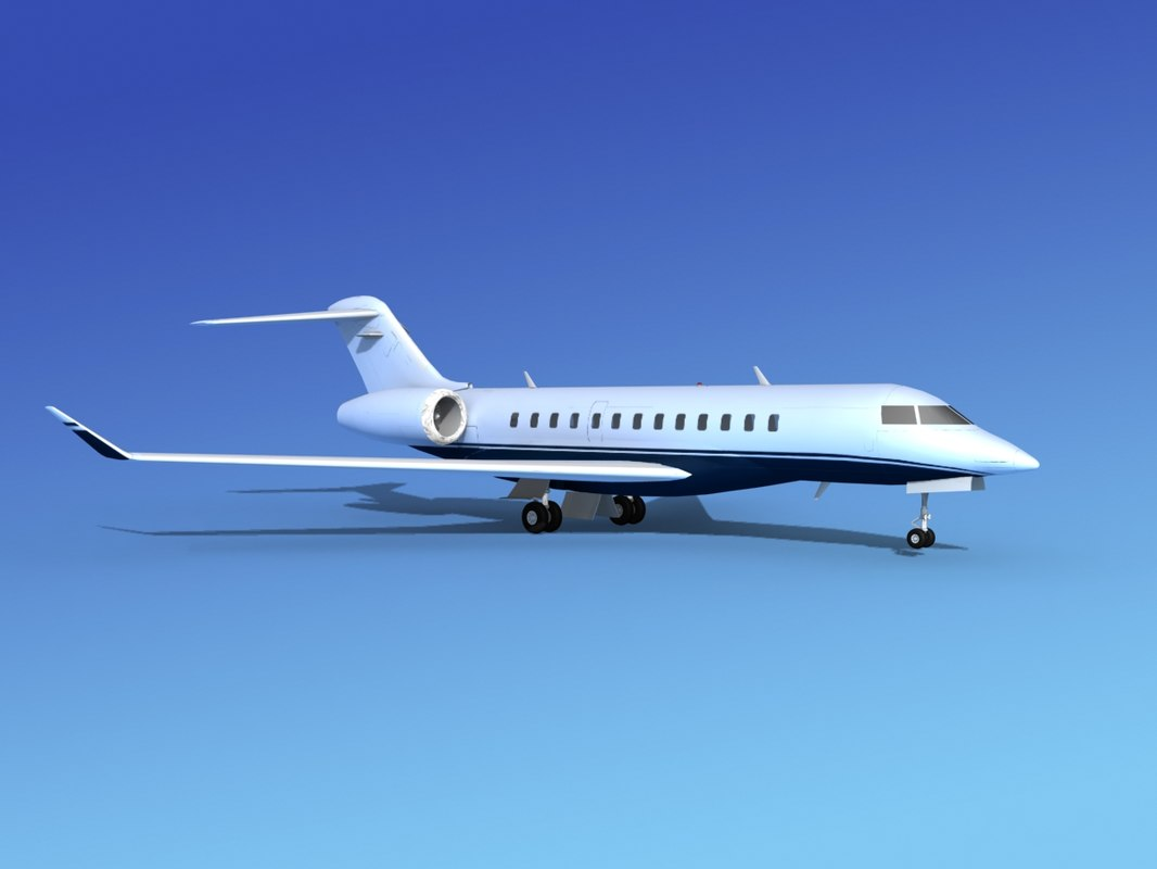 3ds turbines bombardier global express