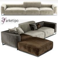 sofa arketipo inkas max