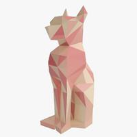 Feline Statuette