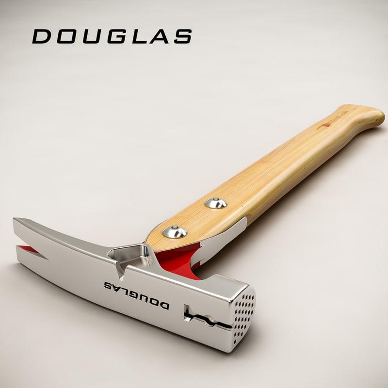 3d max douglas hammer