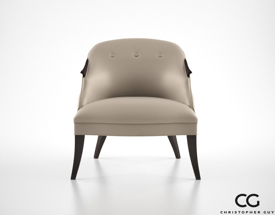 christopher guy annette chair 3d max