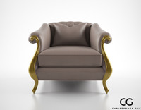 maya christopher guy babette club chair