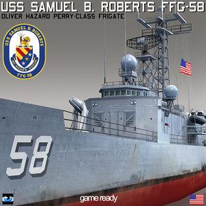 uss samuel b roberts 3ds