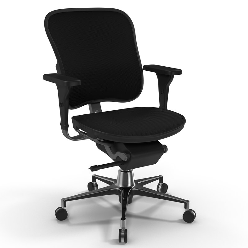c4d office chair 2