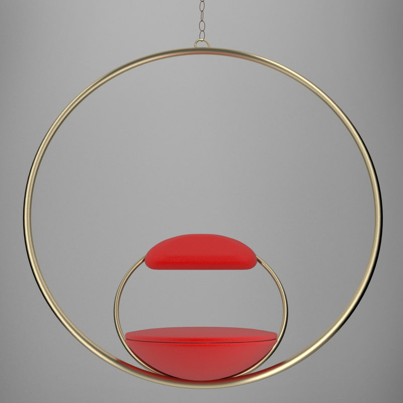 lee broom hoop chair 3d max