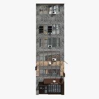 3d new york building model