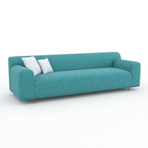 3d model grata rolf benz sofa