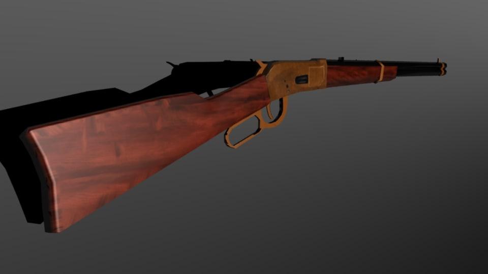 3d old gun