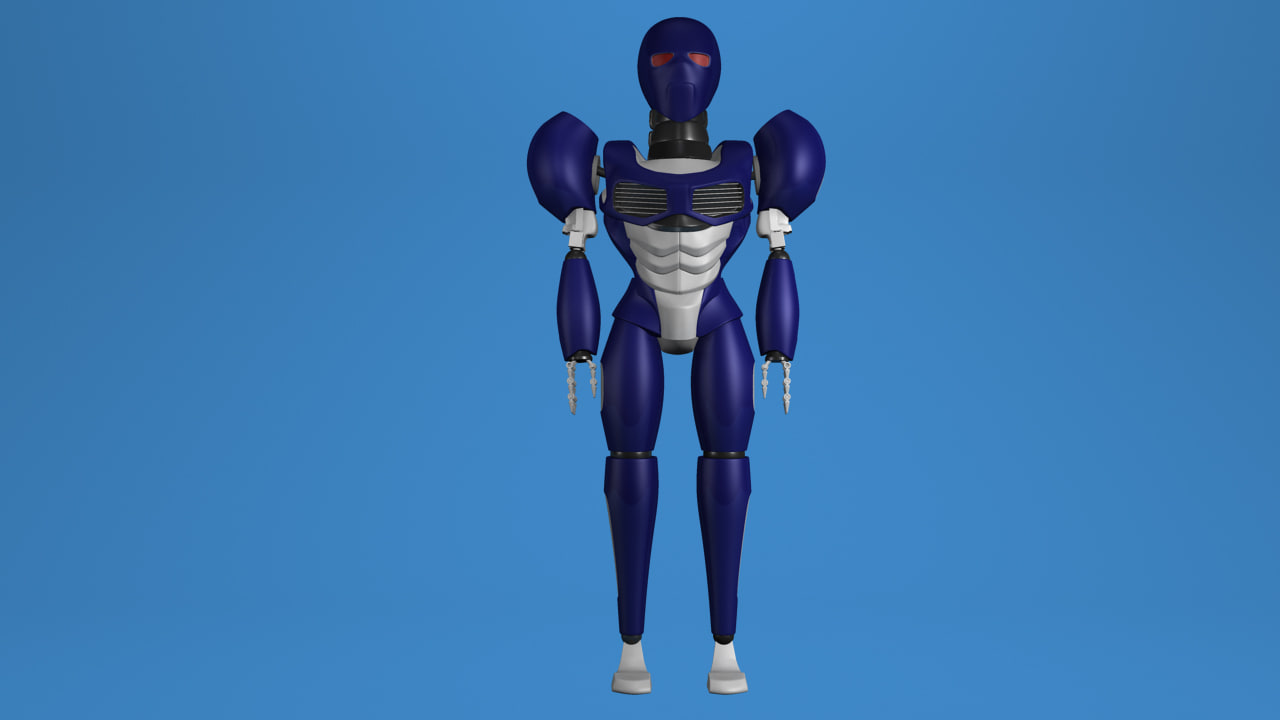 sci-fi robot x free