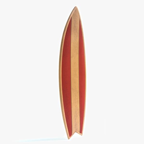 3ds surfboard surf board