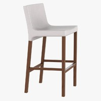 barstool chairs stools 3d model