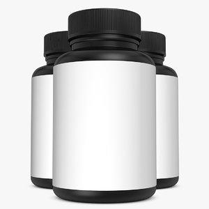 3d model bottle