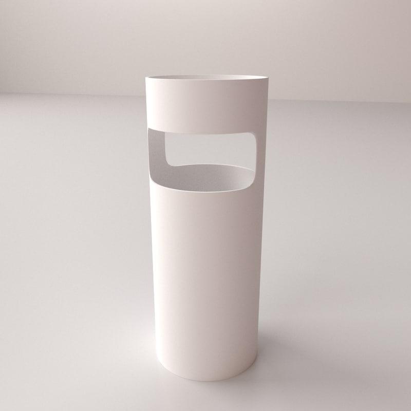 3d model umbrella stand