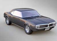 3d model pontiac