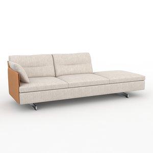 grantorino poltrona frau sofa 3d max