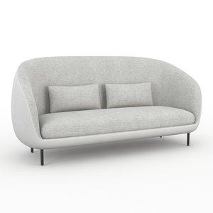3d haiku fredericia furniture sofa