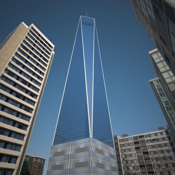 world buildings 3d model
