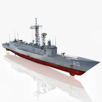 Frigate USS Rodney M. Davis FFG-60