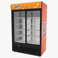 3d fanta double door display