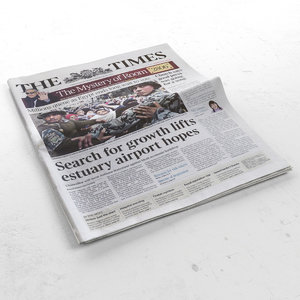newspaper news 3d 3ds