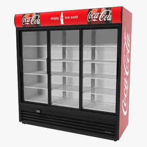 3d coca cola door display