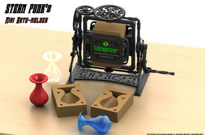 3ds max printing mini molder