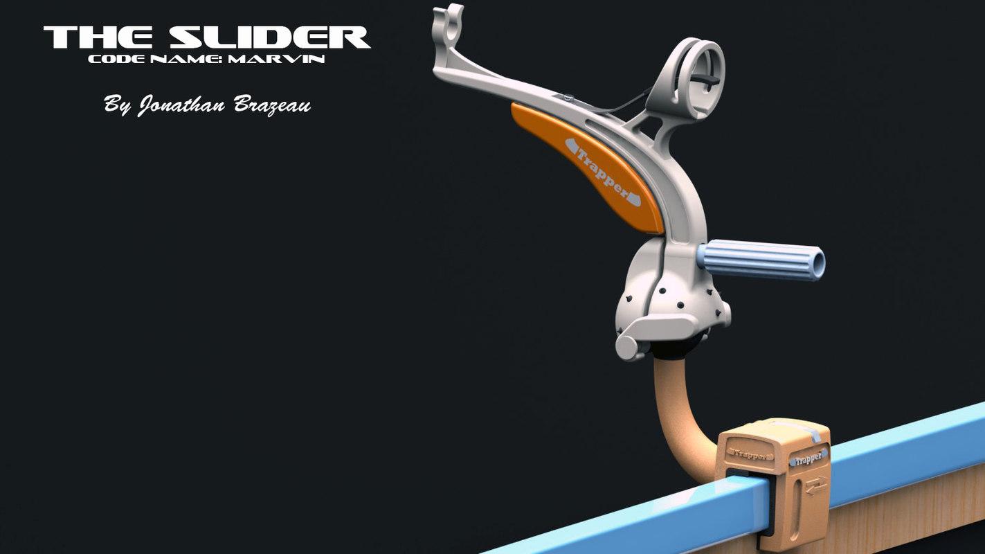 rod holder 3d model