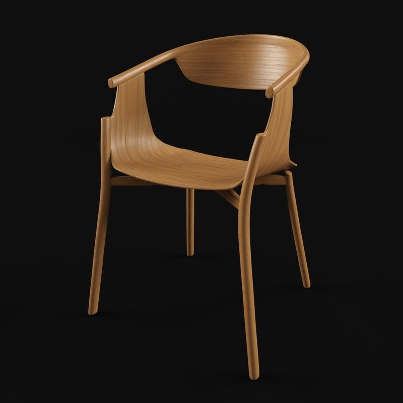 3d model modus chair