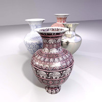 Vase set (antique, vintage, greek, asian, modern)
