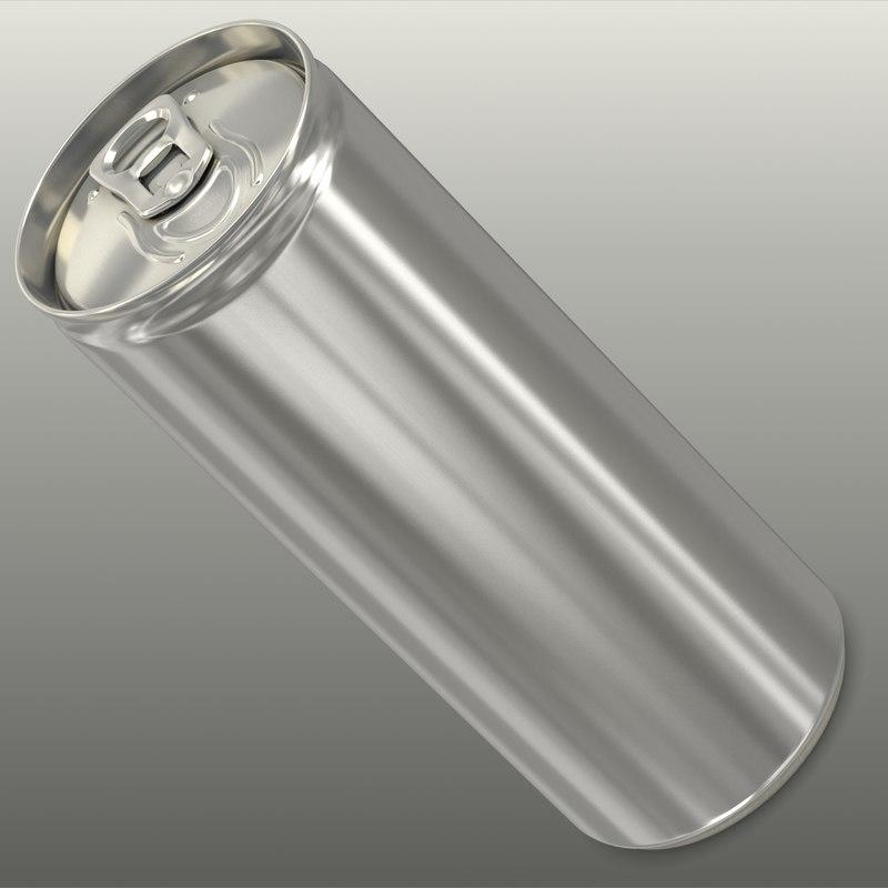generic energy drink 3d model