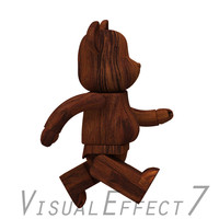 3d model cartoon robotic